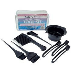 Soft 'N Style Hair Colorist Tool Kit 8 Piece Review   Best Eyelash Growth. #SoftNStyleHairColoristToolKit