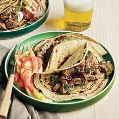Chipotle Pork Tacos | CookingLight.com #myplate #protein