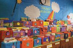 Make fulfilling Classroom Wishlists simple and fun! Create boxes for teachers to fill with their picks. Families can easily browse the titles and select one (or several!) to purchase.    Check out your Book Fair Chairperson Toolkit for more tips and tricks.