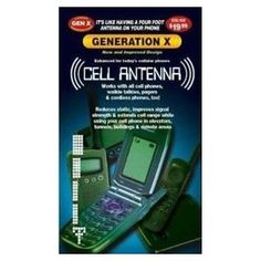 10 Pack of Universal Generation X Cell Phone Antenna Booster Signal Enhancers