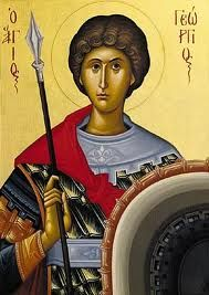 Icon of Saint George by Athanasios Clark