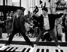 Big (1988): The toy store on 5th Avenue provided the setting for the fondly remembered scene in which Robert Loggia, a toy company executive making weekend rounds, joins Tom Hanks, a 13 year old boy inhabiting the body of a man, in a spirited duet on a giant electronic keyboard. Though most of the displays were those found in the actual store, the overscaled keyboard was added by the film's production designer as a way to subtly reinforce the movie's underlying confusion of big and small.