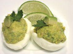 Guacamole Eggs.