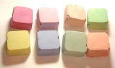 Handmade chalk on Etsy $0.75