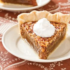 Old-Fashioned Pecan Pie - Cook's Country holiday, brown sugar, americas test kitchen, oldfashion pecan, pie recipes, pecan pies, america test, crust, whipped cream