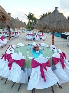 Grand Bahia Principe Akumal/Tulum/Coba Table set-up