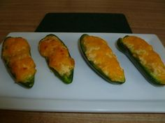 Cornbread Jalapeno Poppers. Wrap them in bacon!