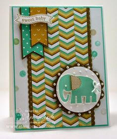 The Stampin' Schach: Zoo Babies for The Paper Players