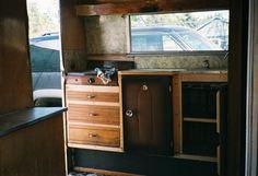 Lil Loafer interior -original drawers