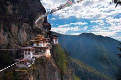 Tiger's Nest Monastery -- Bhutan