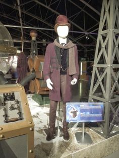 Matt Smith's Eleventh Doctor Who Victorian costume from The Snowmen