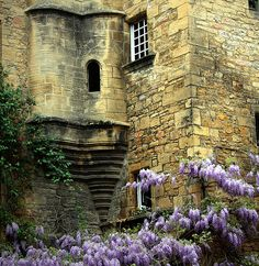 Ancient Castle Tower, Sarlat, France