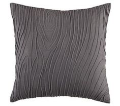 Boys Pillows: Faux Wood Print Throw Pillow