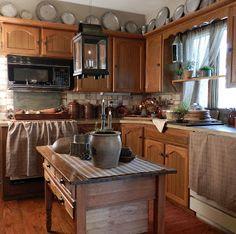 Country Primitive Kitchen
