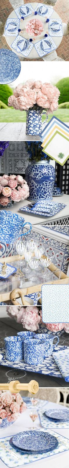 Blue & White Table Inspiration