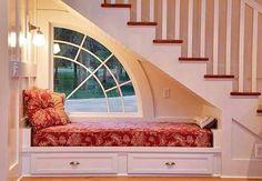 Window seat, under-stair nook