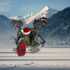 Cthulhu Christmas Card