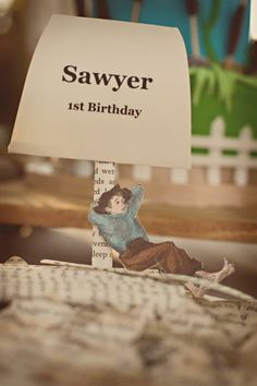Adventures of Tom Sawyer themed party