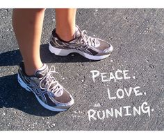 Peace. Love. #Running. Thought the Houston runners would enjoy this moment of zen when trying to run in this heat and humidity. Gotta love summer! http://www.tanglewoodfootspecialists.com/practice_areas/running-marathon-triathlon-training-foot-and-ankle-injuries-houston.cfm