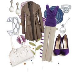 Purple Purple Purple business Fashion Sleek sexy Style