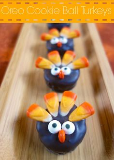 Oreo Cookie Ball Turkeys | Plain Chicken #fall #harvest #thanksgiving #thanks #giving #give #thanksgivingdinner #dinner #planning #holiday #holidays #holidayplanning #family #friends #togetherness www.gmichaelsalon.com