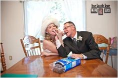 Dad and daughter share their favorite snack - Oreo cookies - before the big day. #oreomoment