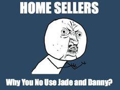 Use Danny and Jade! social media