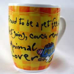 OCCUPATION MUG - ANIMAL LOVER