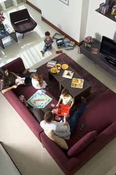 living rooms, famili holiday, famili live, centr resid, jumeirah live