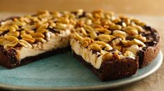 Peanutty Ice Cream Cookie Cake