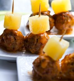 Sweet Glazed Cocktail Balls | 19 Easy and Delicious Appetizers For Thanksgiving Day | Disney Baby