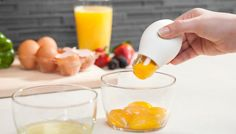 Egg Yolker (The Yolkr) $8 - 7 Kitchen Gadgets You Never Knew You Needed via @PureWow