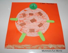 Momma's Fun World: Turtle out of coffee filter