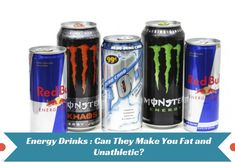 Energy Drinks- Can T