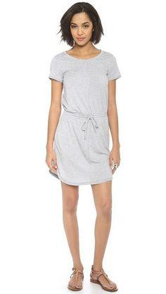 Drawstring Mini Dress / Splendid