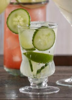 Spicy Cucumber Cocktail:   2 parts Cazadores® blanco tequila  3–4 slices English cucumber  juice of ½ lime  pinch of cayenne pepper  ½ part simple syrup  Shake all ingredients and strain into a double old fashioned glass that's been dipped in a little cayenne pepper. Garnish with fresh cucumber slices.