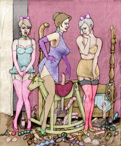Pony Riding! ha ha  #forcedfeminization #sissy #studiojezebel  For more feminization visit: www.studiojezebel.com