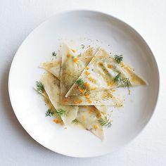 Goat Cheese Ravioli with Orange and Fennel // Perfecting Ravioli: http://www.foodandwine.com/slideshows/perfecting-ravioli #foodandwine #ravioli