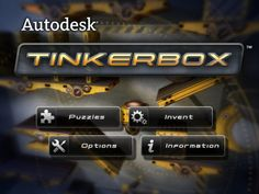 TinkerBox - free physics puzzle game from Autodesk