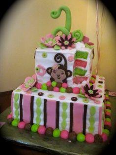 #Monkey Girl Cake