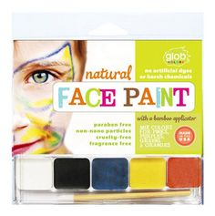 Tip for Halloween face paint: Look for non-toxic options with no parabens, talc or petrochemicals. They're out there!