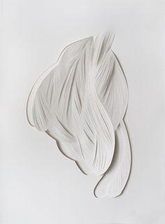 Mathilde Roussel ~ Ecorce 10, 2013 (cut paper)