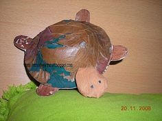 Kids on pinterest paper plate animals pen holders and for Waste to wealth craft ideas
