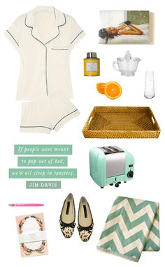 janet hill, fashion, beds, breakfast in bed, pajama, inspir, serving trays, kate spade, juicers