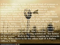 A Police Officer's Wife