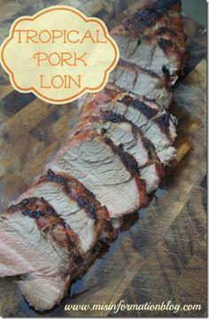 Tropical Pork Loin #