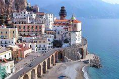 Elevated hwy, Amalfi Coast, Italy
