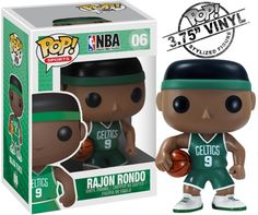 Funko #NBA Pop Rajon Rondo Figure! | aw man, wud love this. I LOVE Rondo