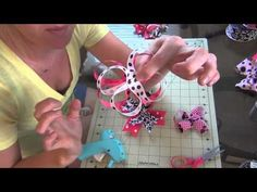 How To Make A Stacked Layered Hair Bow