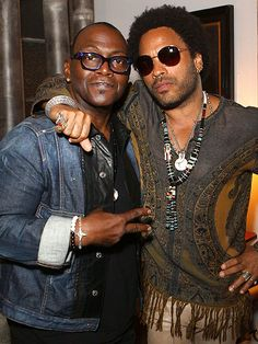KEEPING COOL photo | Lenny Kravitz, Randy Jackson